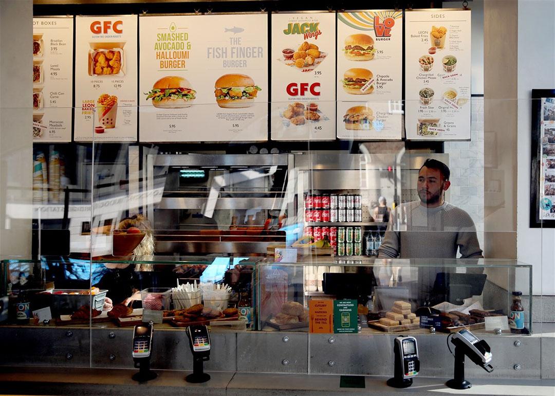 Een Leon-restaurant in Londen. Foto: ANP