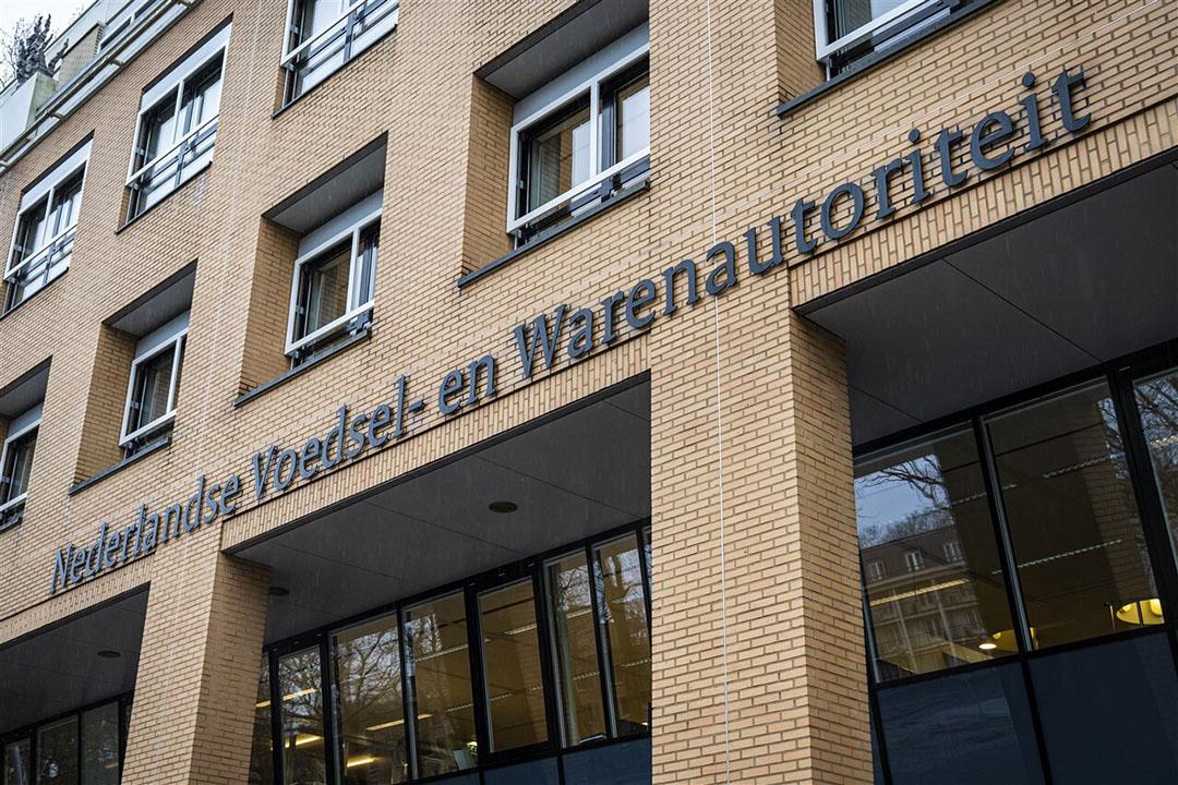 Het hoofdkantoor van de Nederlandse Voedsel- en Warenautoriteit in Utrecht. - Foto: ANP