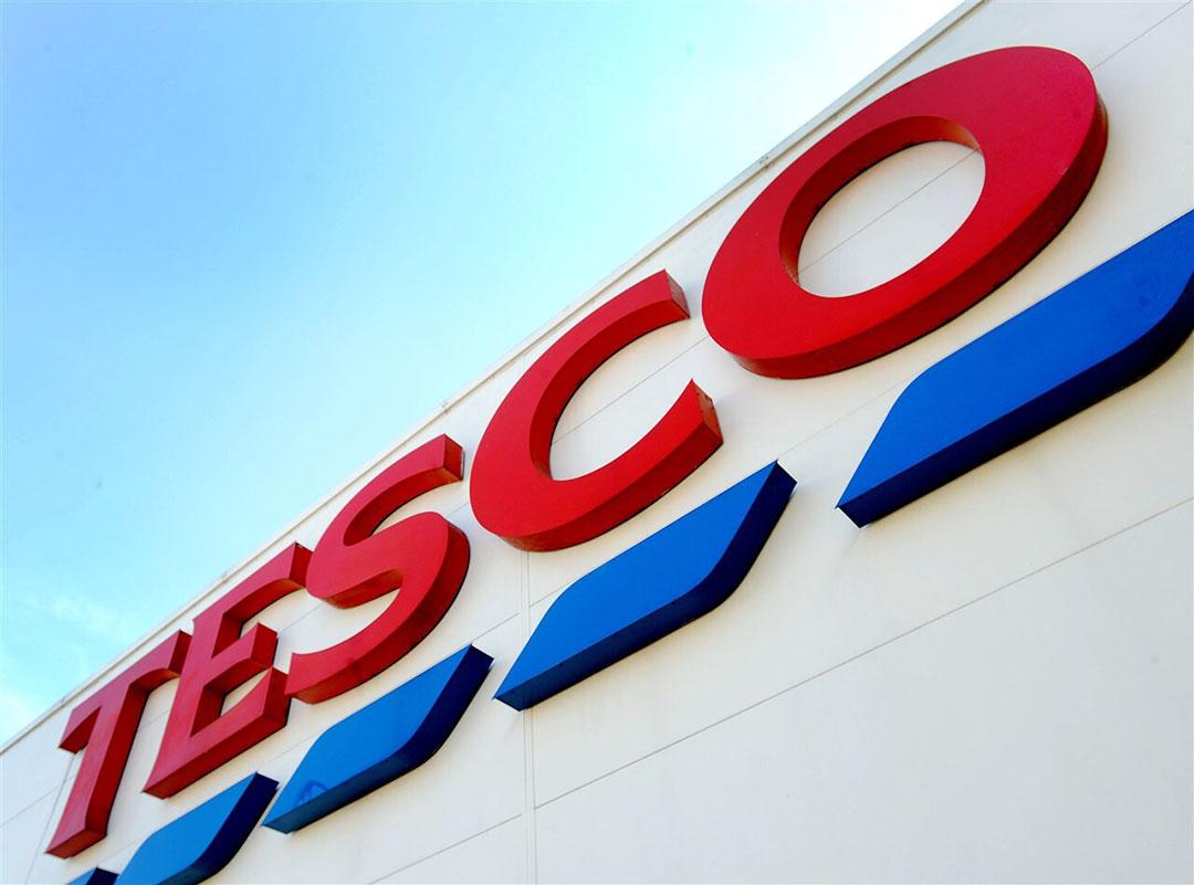 De online omzet van Tesco nam met 77% toe naar €7,25 miljard. Foto: ANP