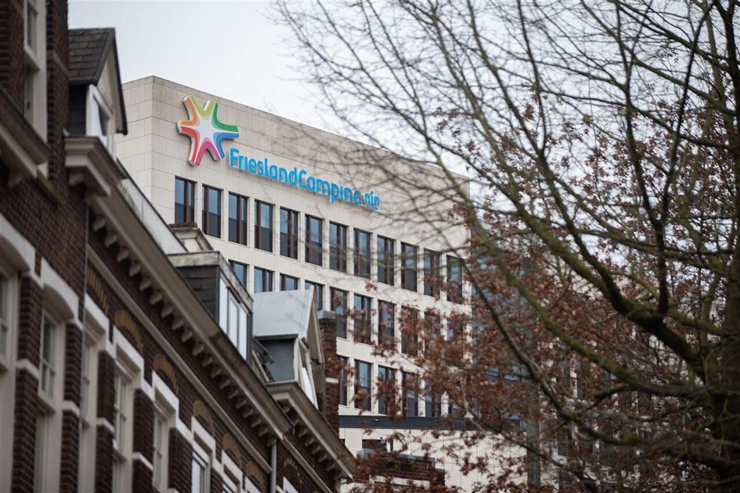 Het hoofdkantoor van FrieslandCampina in Amersfoort. - Foto: ANP