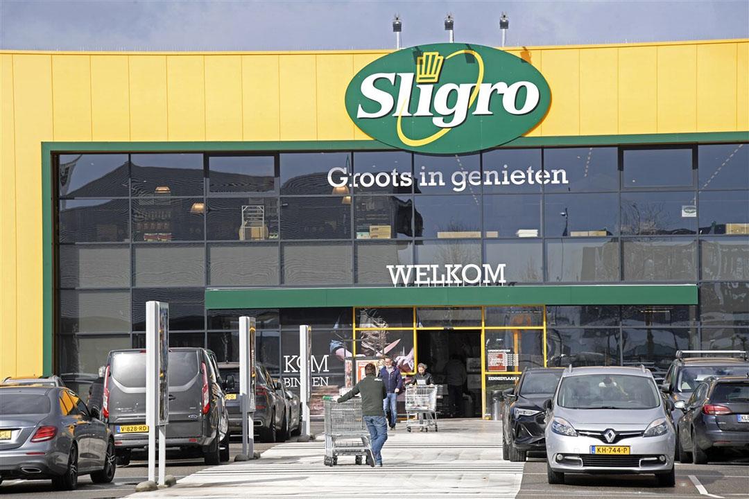 De omzet van Sligro Food Group kwam uit op €328 miljoen, ruim 38% minder dan in het eerste kwartaal van 2020. Foto: ANP