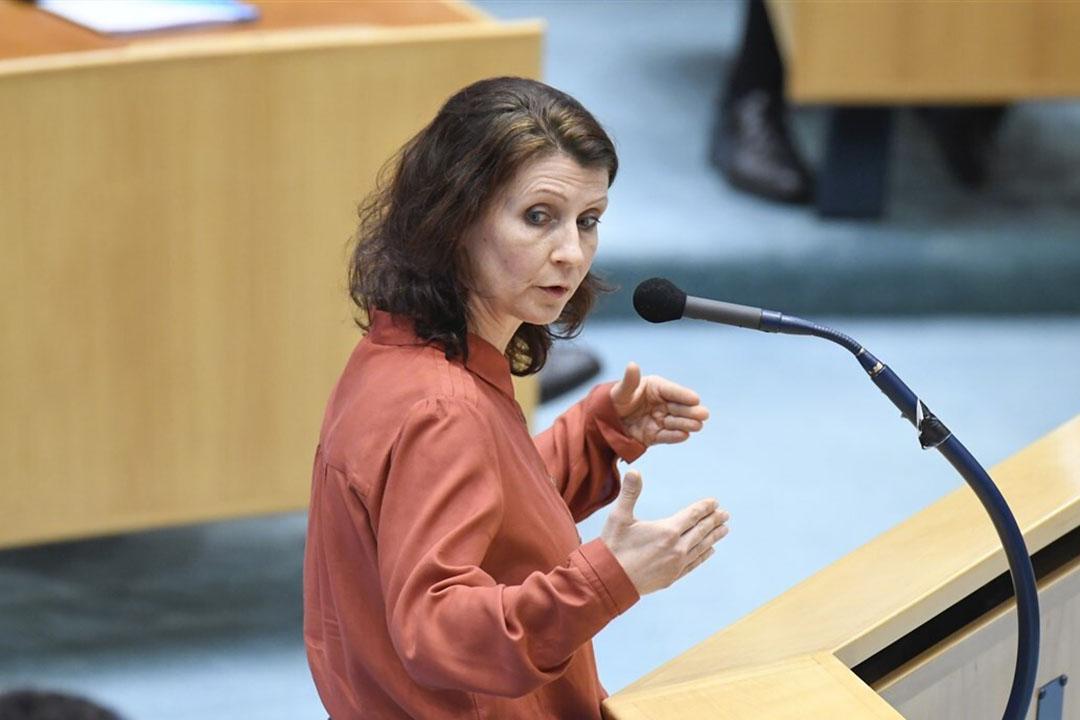 Esther Ouwehand, fractievoorzitter Partij voor de Dieren (PvdD). - Foto: ANP