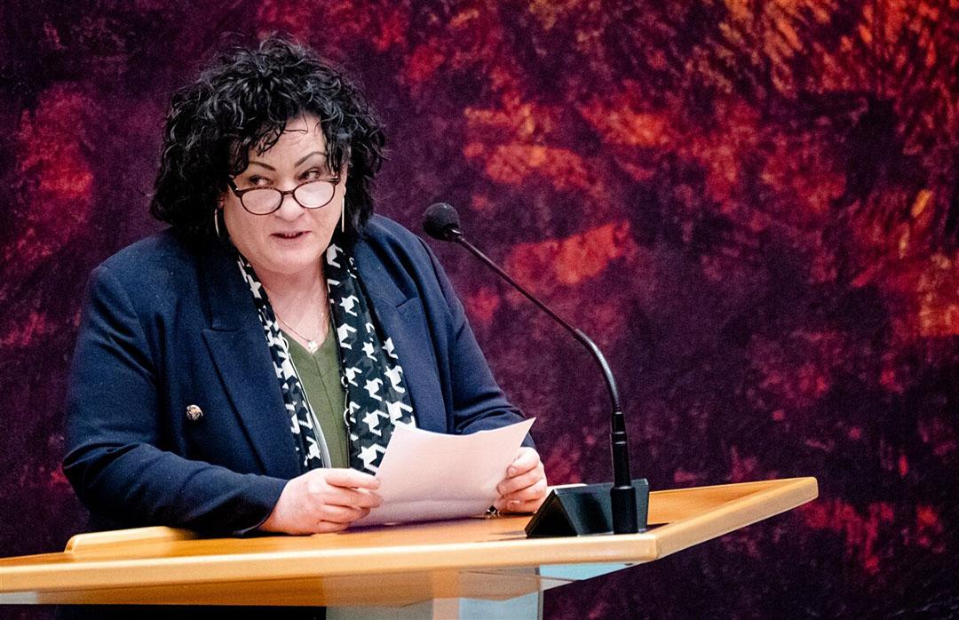 Caroline van der Plas (BBB) in de Tweede Kamer. Foto: ANP