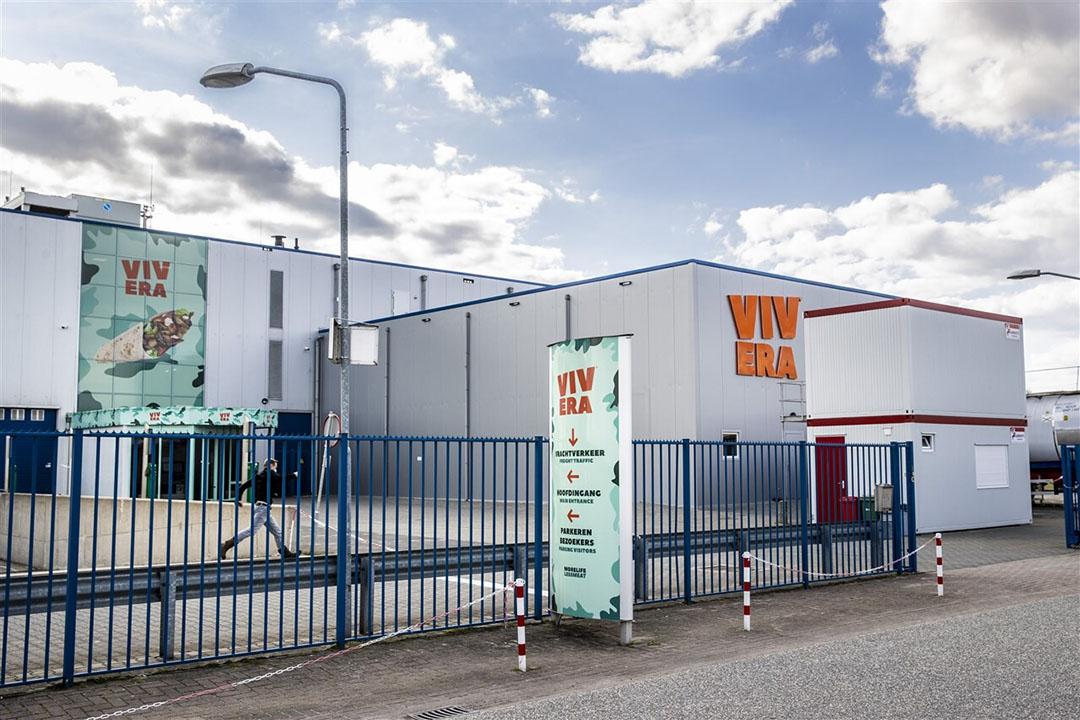 Exterieur van de fabriek van Vivera in Holten.Vivera is de grootste Nederlandse producent van vleesvervangers. Foto: ANP