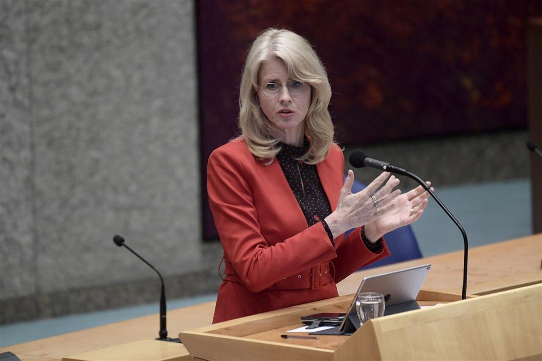 Volgens staatssecretaris Mona Keijzer van Economische Zaken en Klimaat is de oprichting van een zogenoemde MKB-bank niet aan de orde. Foto: ANP