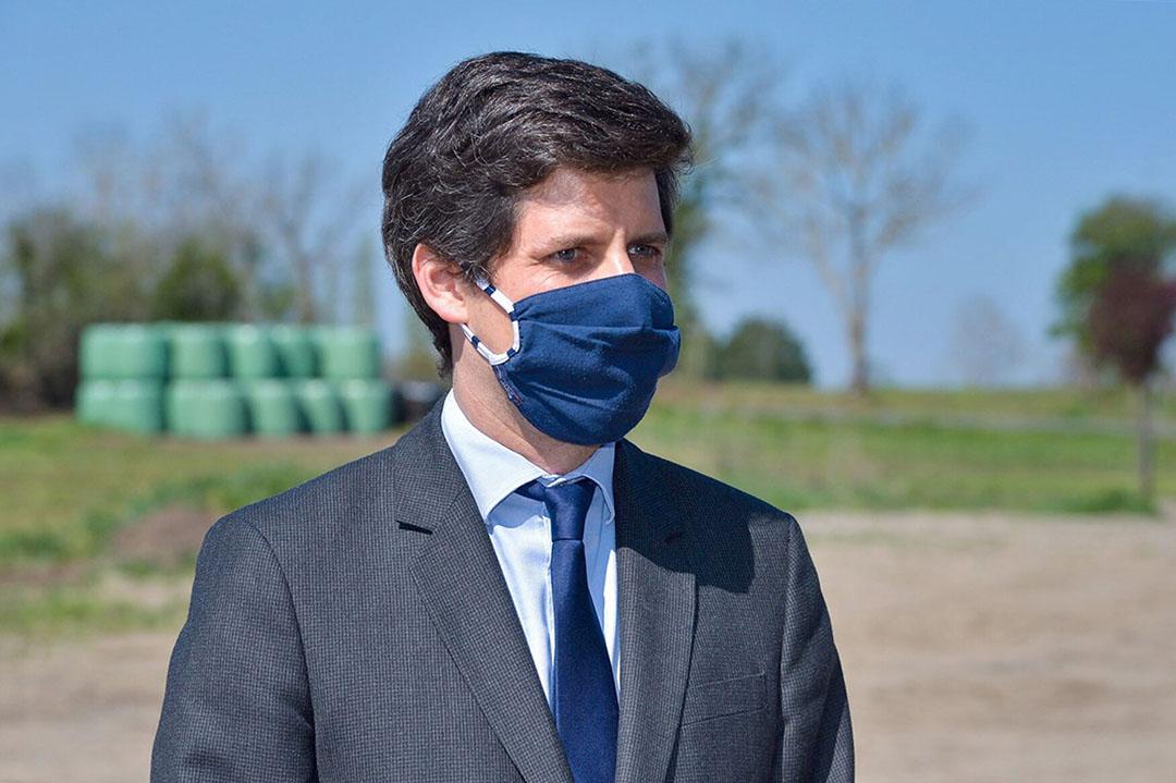 Julien Denormandie, Franse minister van landbouw en voedsel.