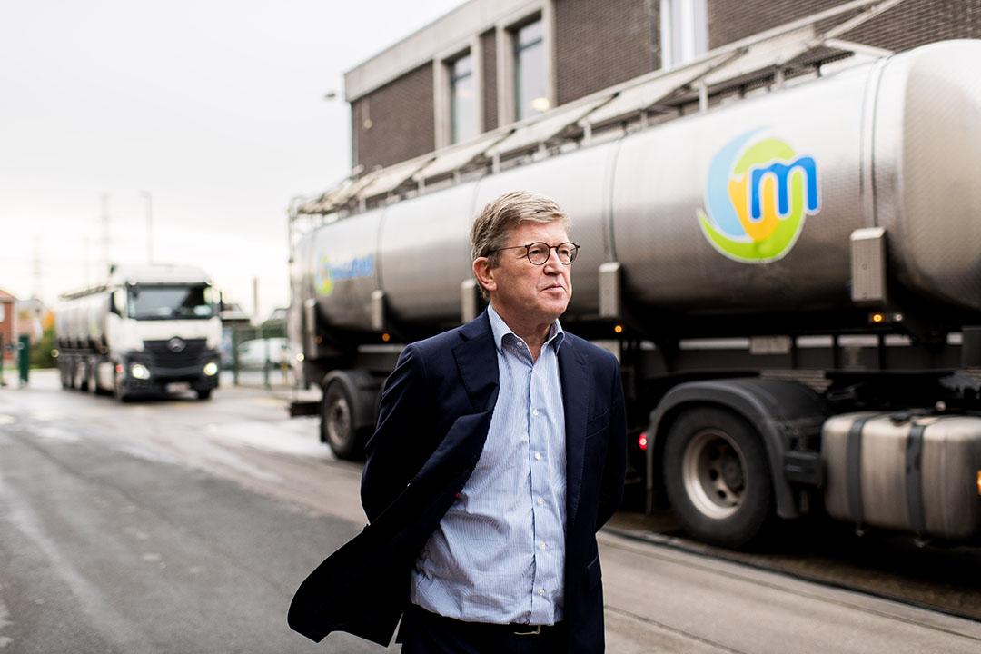 CEO Nils Van Dam wil de bestaande oriëntatie van Milcobel houden, maar de focus en commerciële scherpte verbeteren. - Foto: Dries Luyten