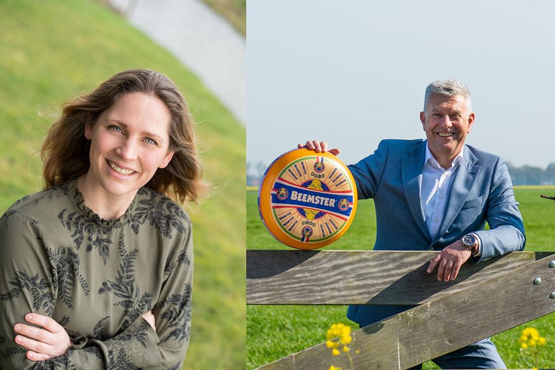 Duurzaamheidsmanager Grietsje Hoekstra en Wim Betten, algemeen directeur Cono. - Foto's: Mo Juriaan Barends en Piet Blaauw
