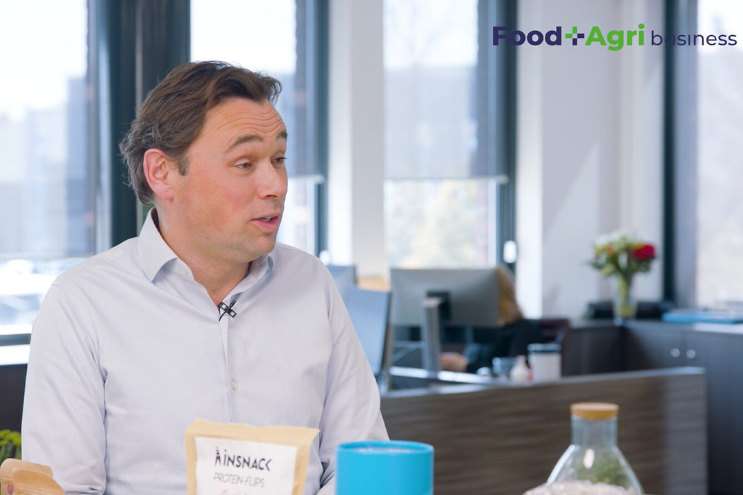 CEO van Protifarm, Tom Mohrmann. - Beeld: Imago Mediabuilders