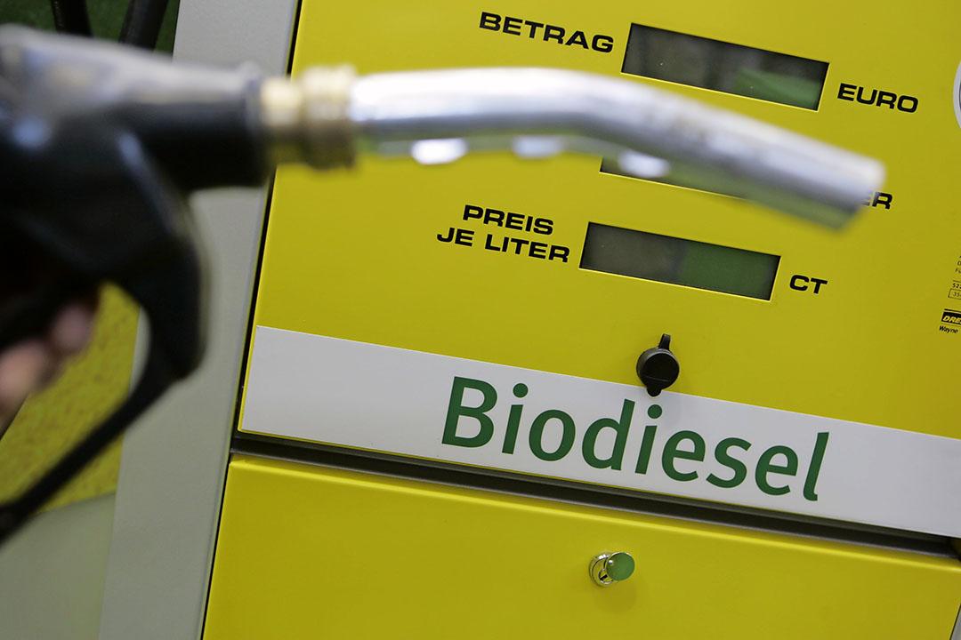 De EU gebruikt veel koolzaadolie om te mengen door biodiesel.