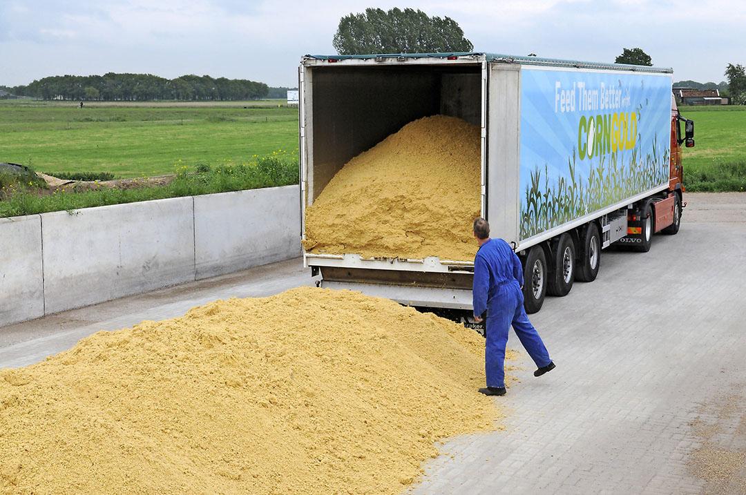 Naast Corngold zijn ook partijen maisglutenvoer, maiskiemen en maisweekwater geblokkeerd. - Foto: Marten Sandburg