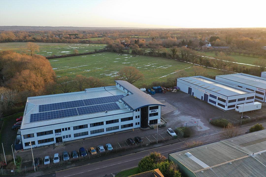 De vestiging van PMJ in het Verenigd Koninkrijk. - Foto: PMJ