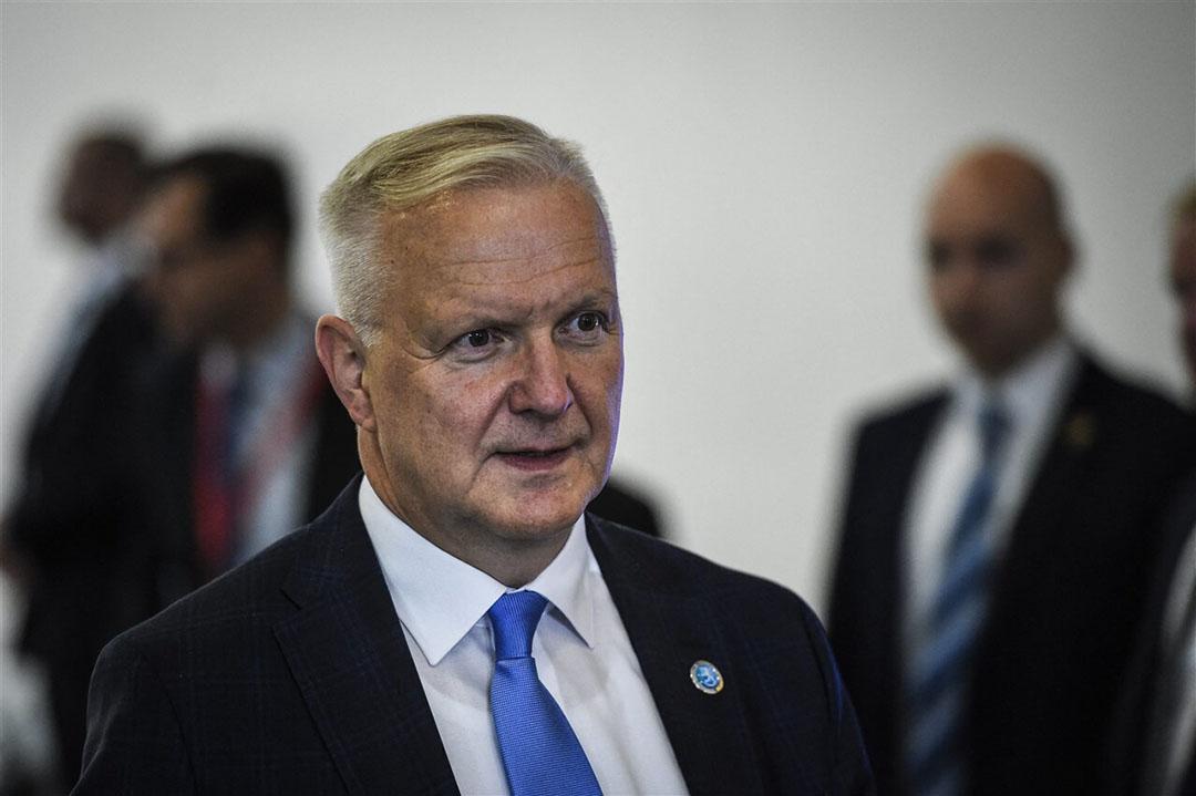 Oud-Eurocommissaris Olli Rehn mengt zich in de discussie over de inflatie. - Foto: ANP