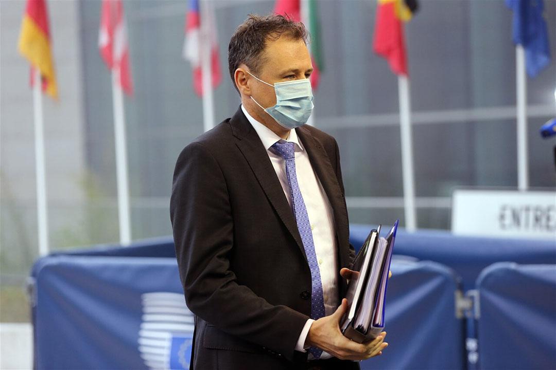 Charlie McConalogue, de Ierse minister voor Landbouw en Voeding, verwacht niet brexit-hobbels vanaf 1 oktober. - Foto: ANP