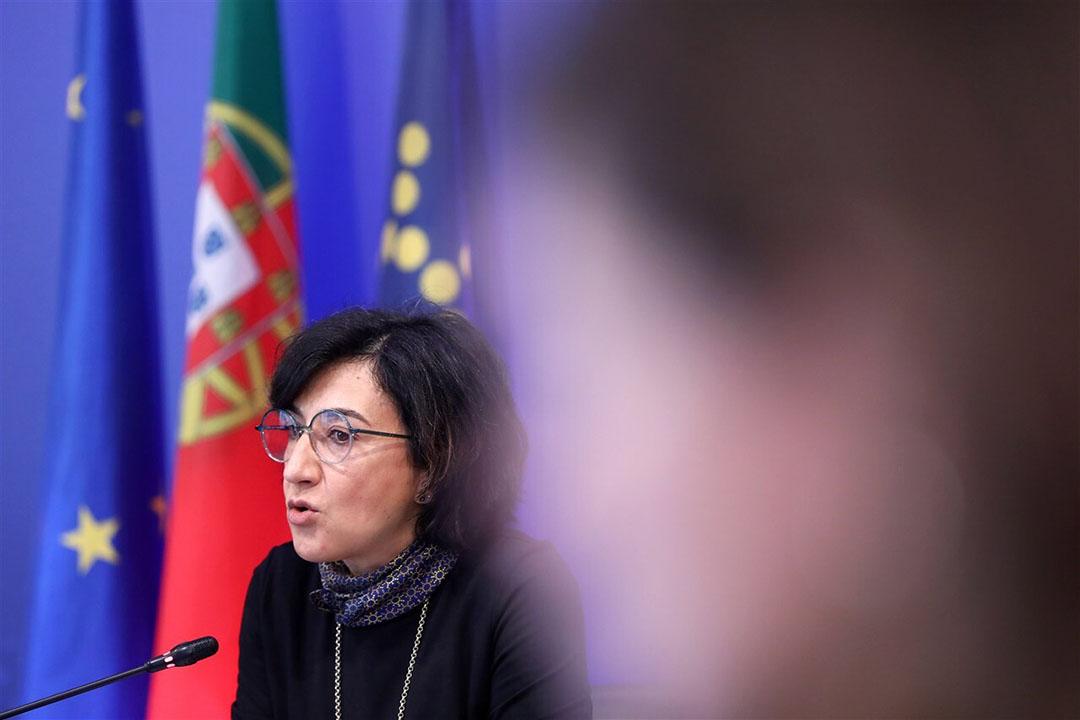 De Portugese landbouwminister Maria do Céu Antunes. - Foto: ANP