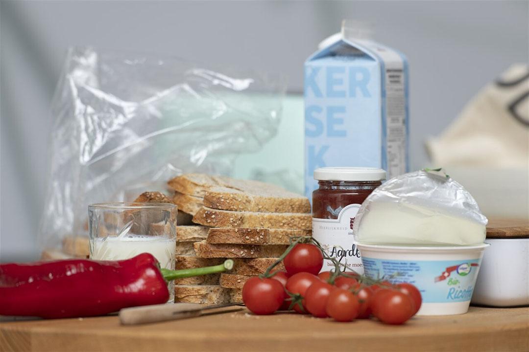 Gezonde voedingsproducten. - Foto: ANP