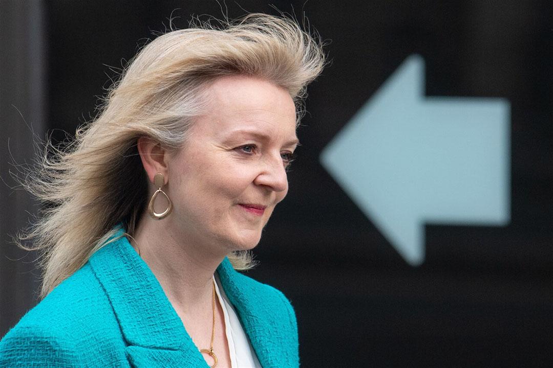 Minister voor internationale handel Liz Truss streeft naar een zo vrij mogelijke handel. Foto: ANP