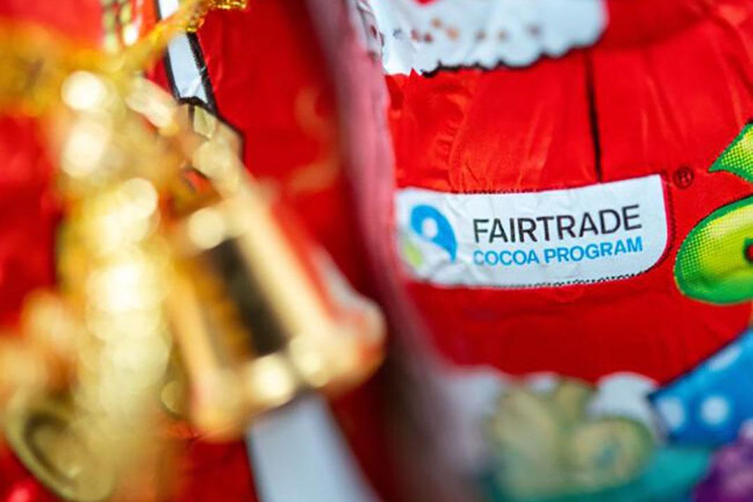Fairtrade-chocolade. Van de Fairtradeproducten in de schappen zijn de meeste koffie, cacao en thee. - Foto: ANP