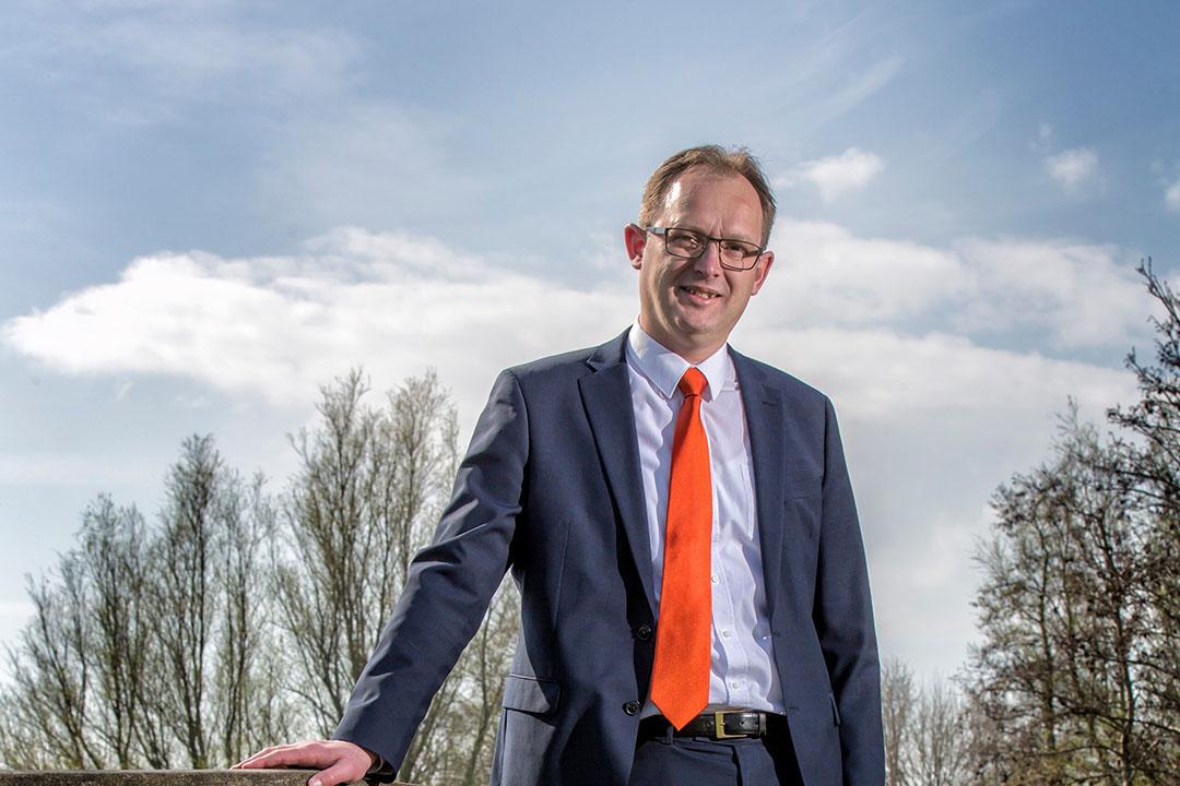 Bert-Jan Ruissen van de SGP. - Foto: Roel Dijkstra