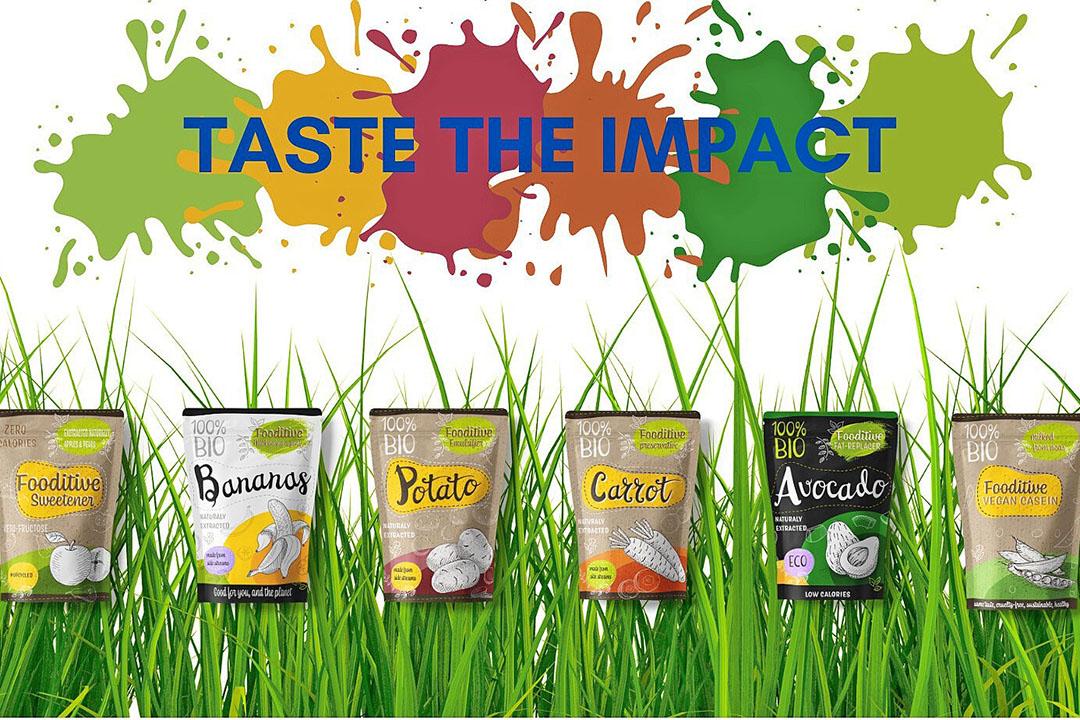 De zes producten van startup Fooditive.