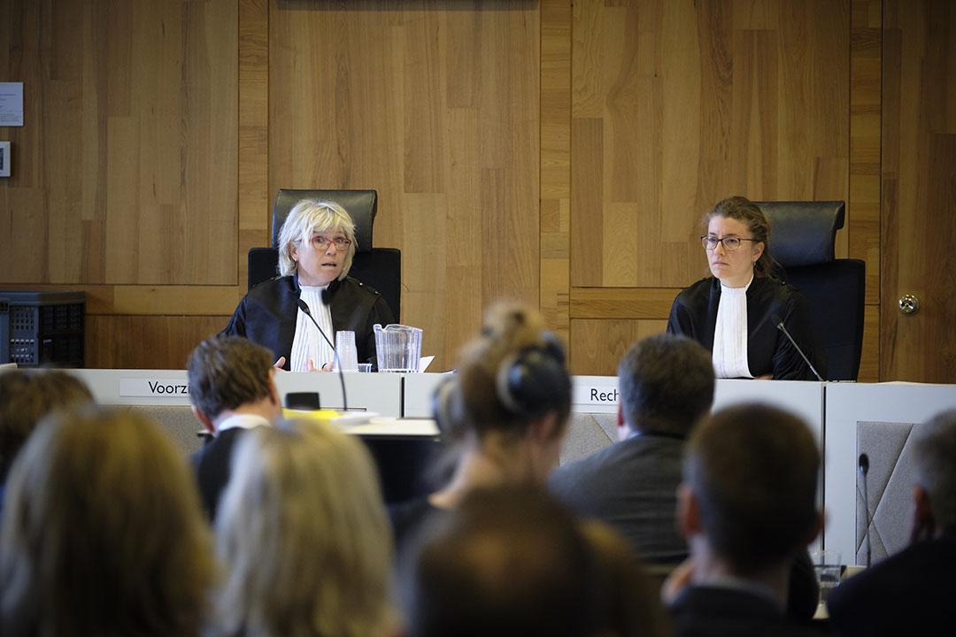 Tijdens een eerdere rechtszaak stelden pluimveehouders de overheid aansprakelijk voor de schade die zij hebben geleden door de fipronil-crisis. - Foto: Joep van der Pal