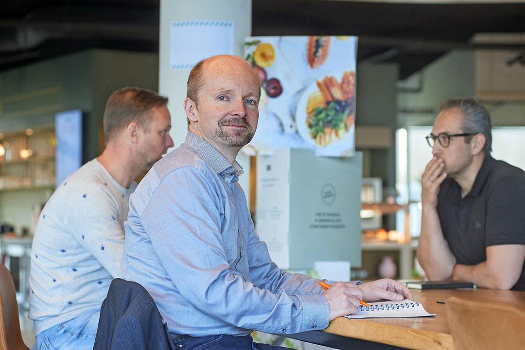"""Herman Peppelenbos, lector Groene Gezondheid aan de HAS Hogeschool in Den Bosch: """"We weten wel dat het gezond is, maar toch vinden we groente en fruit weinig waard."""" - Foto: Van Assendelft Fotografie"""