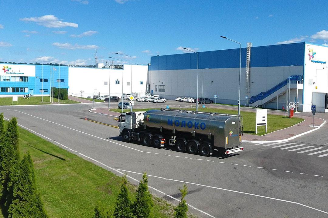 Fabriek van FrieslandCampina in Stupino, Rusland. - Foto: FrieslandCampina
