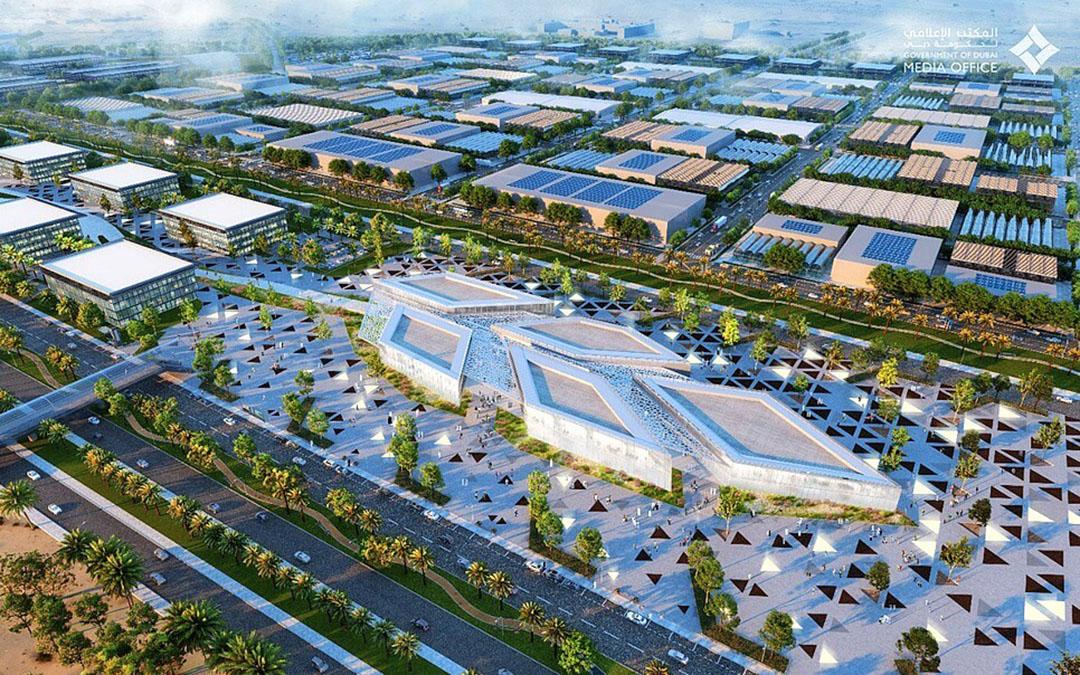 Zo moet de Food Tech Valley in Dubai er uit gaan zien. Foto: VAE