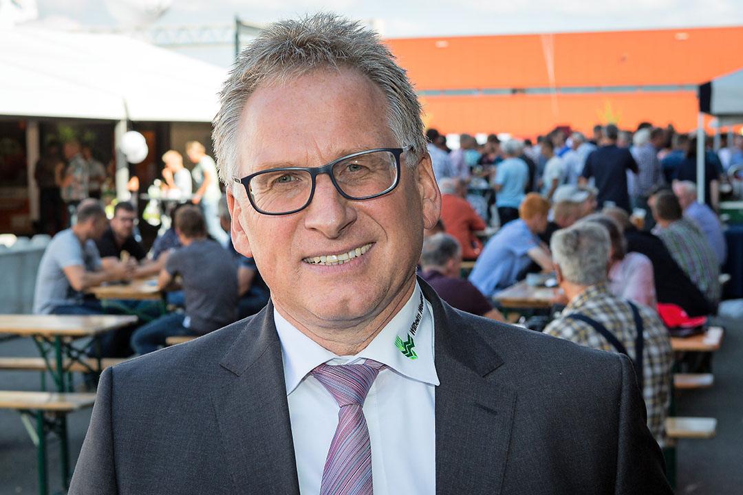 Ferdi Buffen, directeur van het Duitse aardappelhandelshuis Weuthen. Foto: Peter Roek