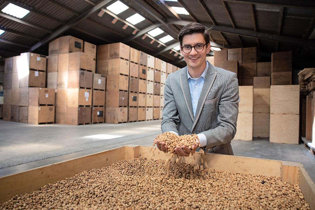 """Jurriaan Visser: """"We staan nog maar aan het begin van deze nieuwe groeimarkt, die voor ons nog wel een niche is."""" - Foto: Peter Roek"""