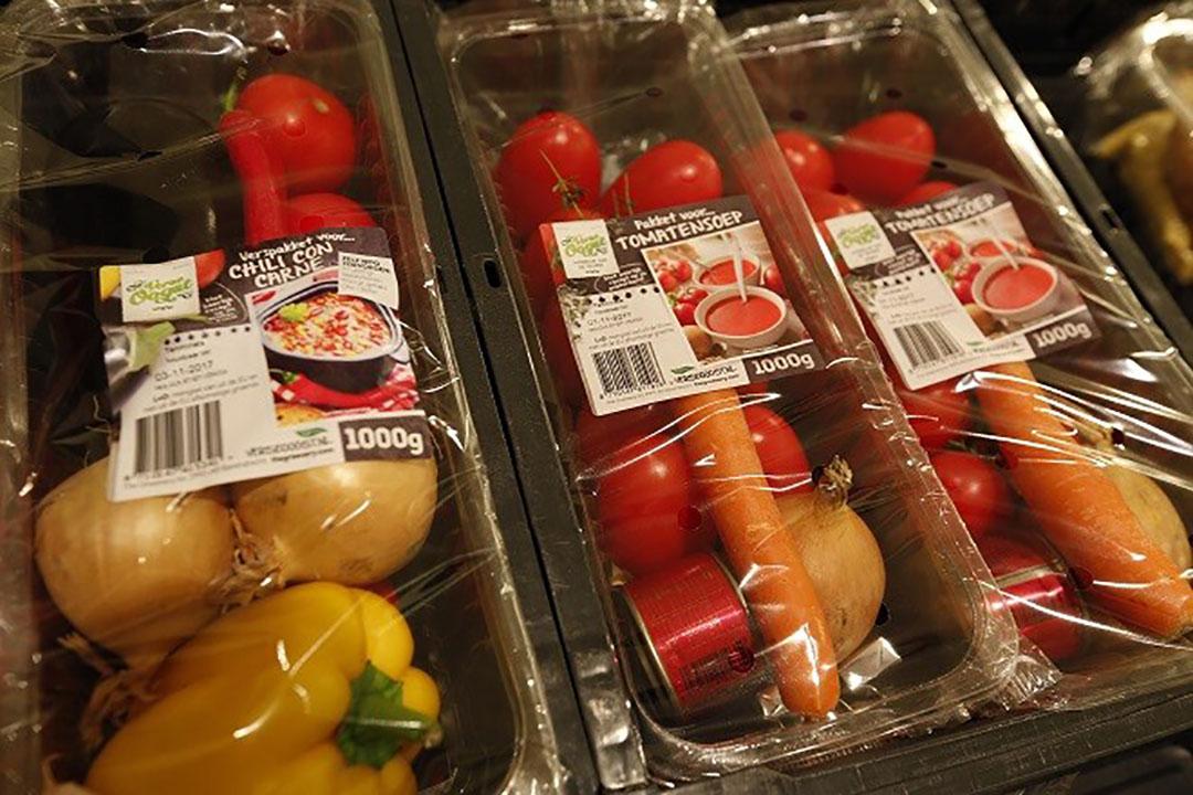 Verspakketten in de supermarkt. De verkoop van verspakketten is het afgelopen jaar met 32% gestegen.  - Foto: Hollandse Hoogte
