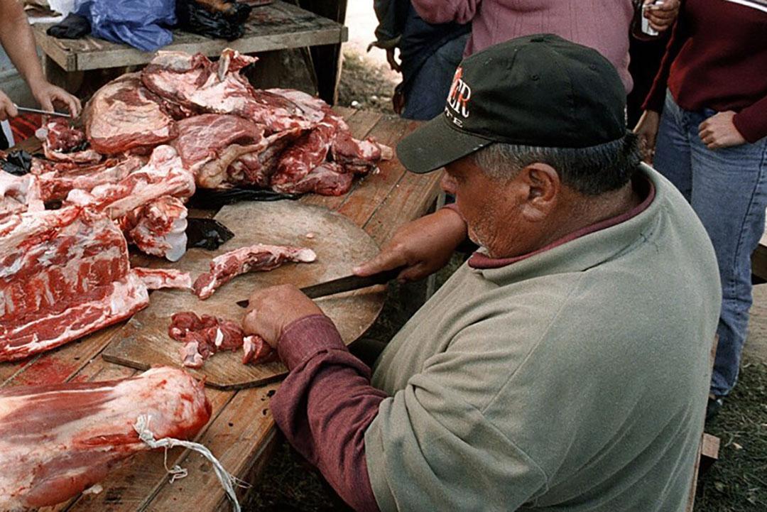 De Argentijnse regering wil een garantie geven voor voldoende rundvleesaanbod op de lokale markt. - Foto: ANP