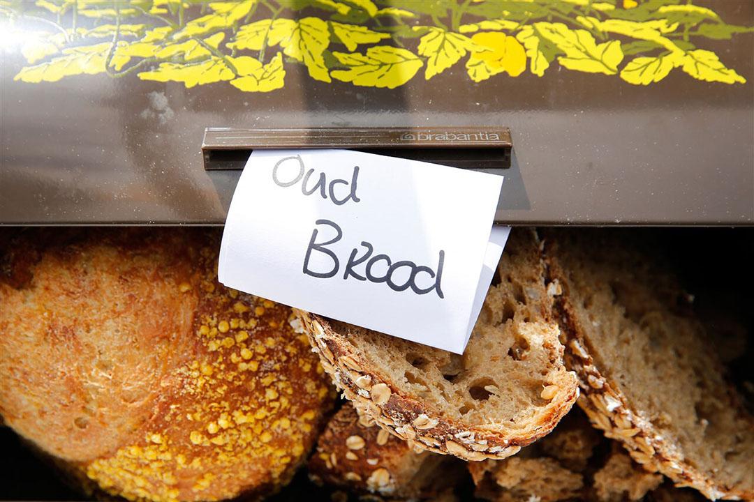Oud brood. Nederlanders noemen brood als meest weggegooide voedsel. - Foto: ANP