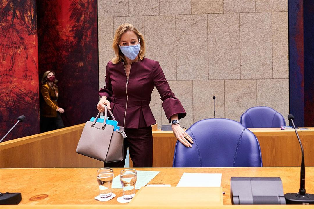 Staatssecretaris van Infrastructuur en Waterstaat Stientje van Veldhoven wil samen met Duitsland, Frankrijk, België en Luxemburg meer actie vanuit Brussel om gesjoemel met biobrandstoffen tegen te gaan. Foto: ANP