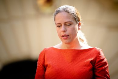 Demissionair minister van landbouw Carola Schouten  - Foto: ANP
