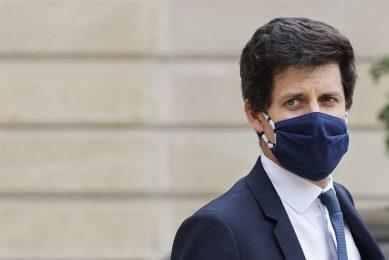 De Franse minister van Landbouw Julien Denormandie. -