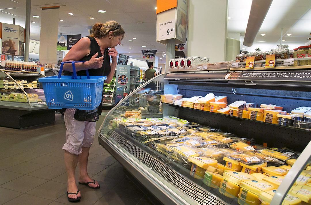 De verkoop van plantaardige kaas neemt toe, maar is met een omzet van €5 miljoen slechts een fractie van de totale kaasverkoop in Nederland. Foto: ANP