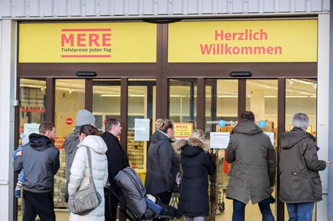 Mere-supermarkt in Leipzig. - Foto: ANP