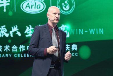 Snorri Sigurdsson is senior projectmanagers bij Arla Foods. Foto: Arla Foods