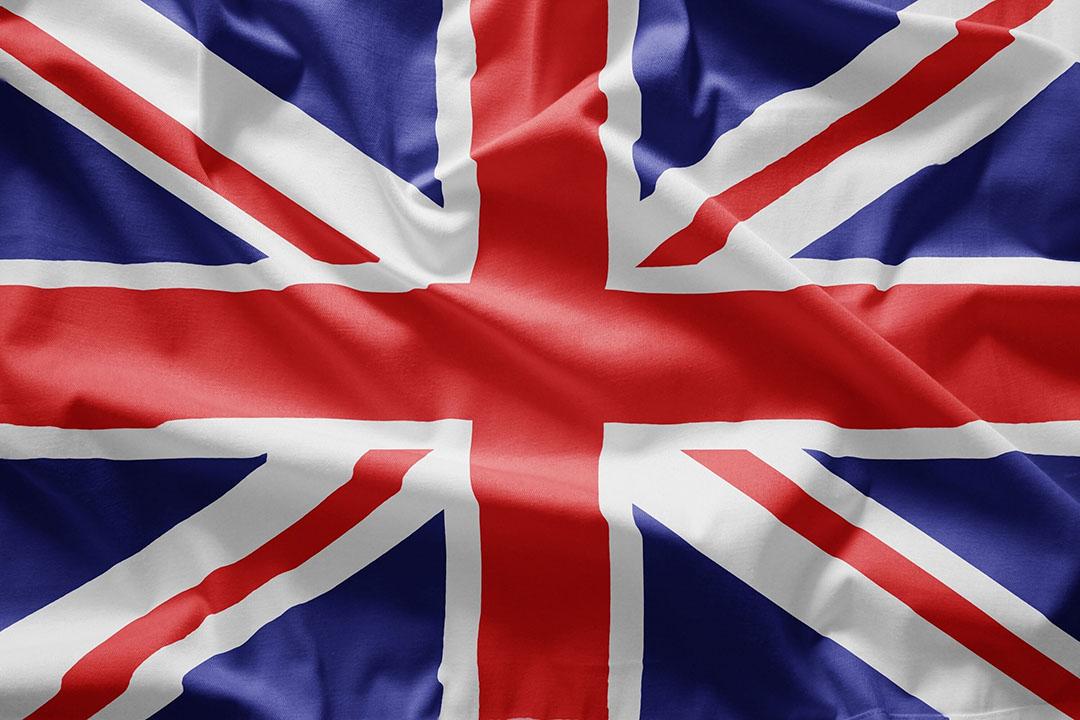 Vlag van Verenigd Koninkrijk. Foto: Canva