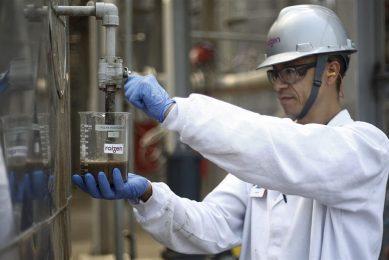 Productie van ethanol in een fabriek in São Paulo, Brazilië. Foto: ANP