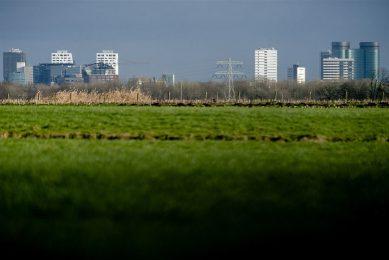 Het poldergebied Rijnenburg. Er kunnen duizenden woningen komen. - Foto: ANP