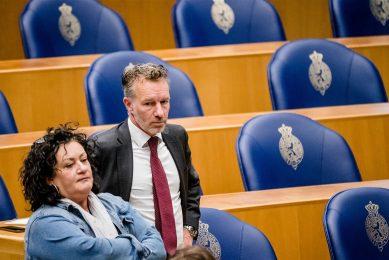 Caroline van der Plas (BBB) en Wybren van Haga (BVNL) in de Tweede Kamer. - Foto: ANP