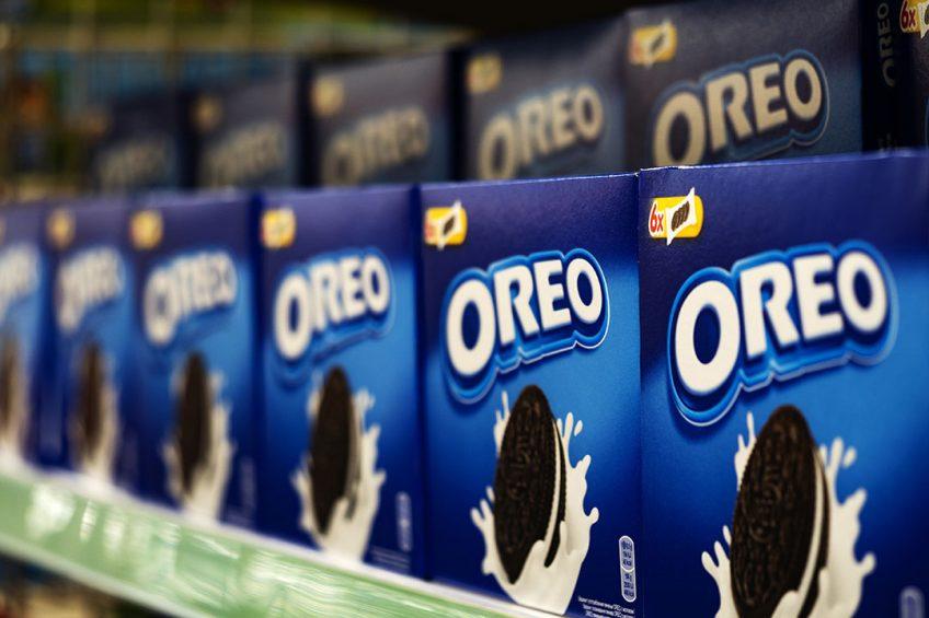Het Amerikaanse voedingsbedrijf Mondelez voert onder meer het merk Oreo. - Foto: ANP