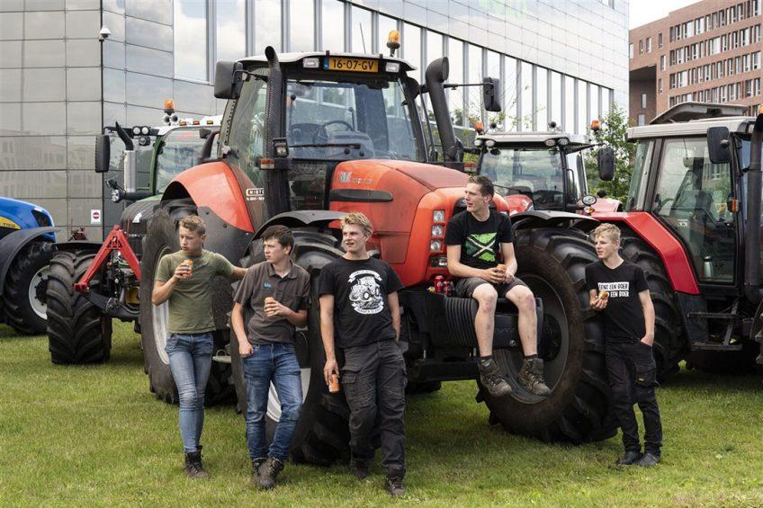 Het boerenprotest op 7 juli was een terechte noodkreet, die in tegenstelling tot de laatste boerenprotesten overal gemoedelijk werd geuit. - Foto: ANP
