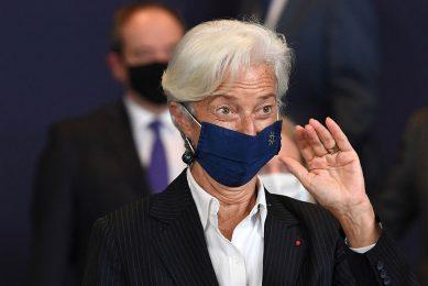 ECB-President Christine Lagarde. Foto: ANP