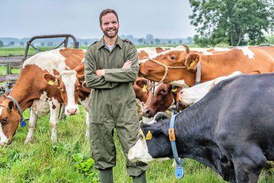 Tweede Kamerlid Derk Boswijk (CDA) gaat elke vrijdagochtend aan het werk bij een boer. Boswijk beheert behalve het woordvoerderschap landbouw ook de portefeuille defensie voor de CDA-fractie. - Foto: ANP
