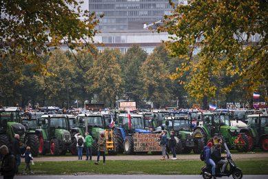 Eerder boerenprotest tegen het stikstofbeleid op 16 oktober 2019. - Foto: Roel Dijkstra
