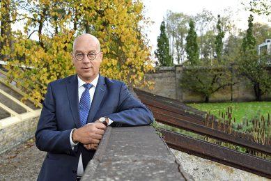 """Henk Westerhof is voorzitter van PlantNet International: """"Het gaat ons in de breedte om het positioneren van de handelsbedrijven in de plantaardige sector."""" Foto: René Faas"""