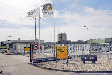 Lamb Weston / Meijer in het Zeeuwse Kruiningen. Het bedrijf gaat op deze locatie zijn jaarlijkse capaciteit jaarlijkse productiecapaciteit met 180.000 ton uitbreiden. - Foto: Roel Dijkstra